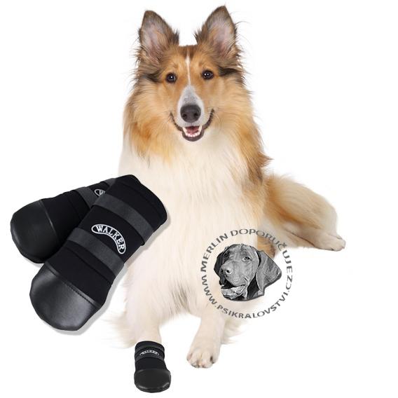 41230eec8d7 Botičky pro psa ochranné WALKER neopren 2ks L