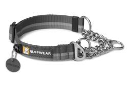 RUFFWEAR obojek pro psa CHAIN REACTION Šedý M 36-51cm/25mm