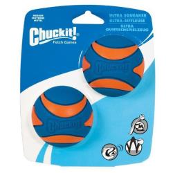 Míček Chuckit Ultra Squeaker Ball Medium 6,5 cm - 2ks