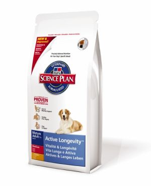 Hill's Canine Dry Senior 12kg + 2,5kg do vyprodání