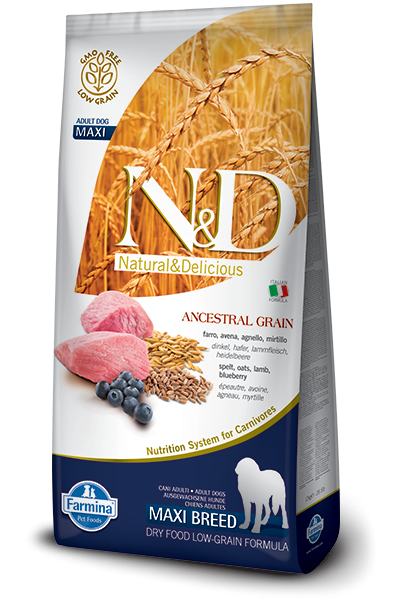 N&D Low Grain DOG Adult M/L Lamb & Blueberry 12kg + dárek + doprava zdarma
