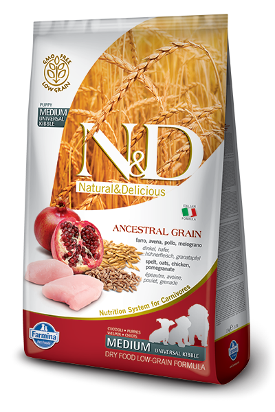 N&D Low Grain DOG Puppy Chicken & Pomegranate 12kg + dárek + doprava zdarma