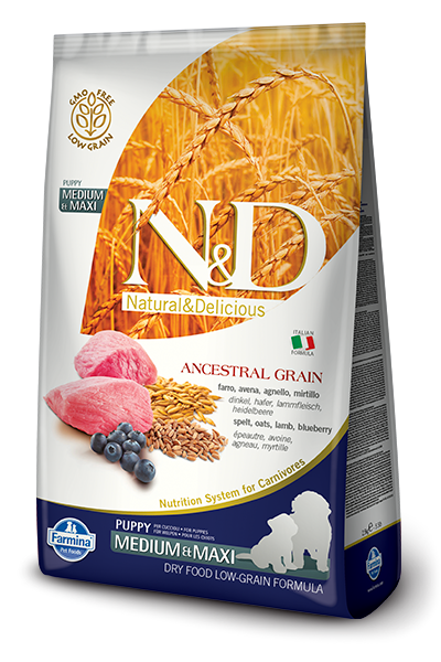 N&D Low Grain DOG Puppy M/L Lamb & Blueberry 12kg + dárek + doprava zdarma