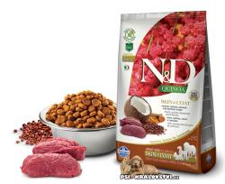 N&D GF Quinoa DOG Skin&Coat Venison & Coconut 2,5kg