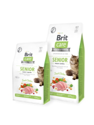 Brit Care Cat GF Senior Weight Control 7kg