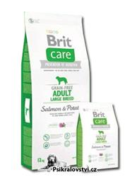 Brit Care Dog Grain-free Adult Large Breed Salmon & Potato 12kg