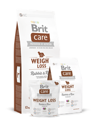 Brit Care Dog Weight Loss Rabbit & Rice 12kg AKCE