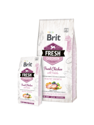 Brit Dog Fresh Chicken&Potato Puppy Healthy Growth 12kg