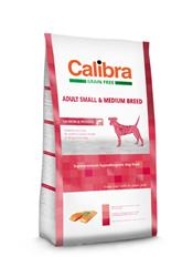 Calibra Dog GF Adult Medium & Small Salmon 12kg + Calibra Joy + doprava zdarma