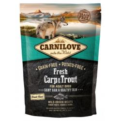 Carnilove Dog Fresh Carp & Trout for Adult 1,5kg NEW