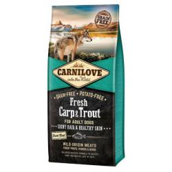 Carnilove Dog Fresh Carp & Trout for Adult 12kg NEW