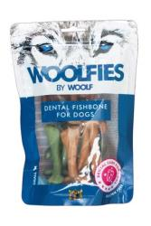 Pochoutka dentální Woolfies Dental Fishbone S 200g