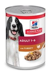 Hill's Canine  konzerva SP Adult Turkey 370g