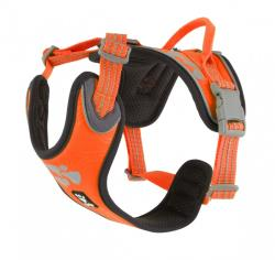 Postroj Hurtta Weekend Warrior Neon ORANŽOVÝ 40-45cm