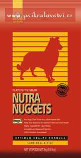 Nutra Nuggets Lamb Rice 15 kg