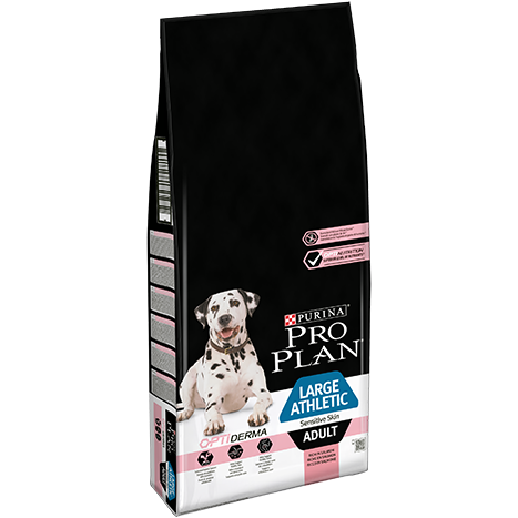 Purina Proplan Dog Adult Large Athletic Lamb OPTIDERMA 14kg