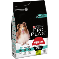 Pro Plan Dog Adult Medium Sensitive Digestion OPTIDIGEST 14kg
