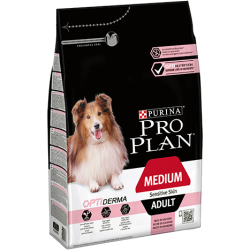 Pro Plan Dog Adult Medium Sensitive Skin OPTIDERMA 14kg