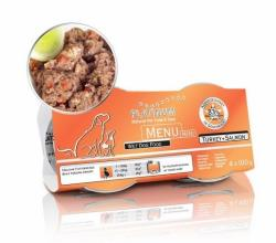 Platinum Menu Mini Turkey+Salmon 4x100g