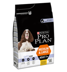 Pro Plan Dog Adult 7+ Medium&Large OPTIAGE 14kg